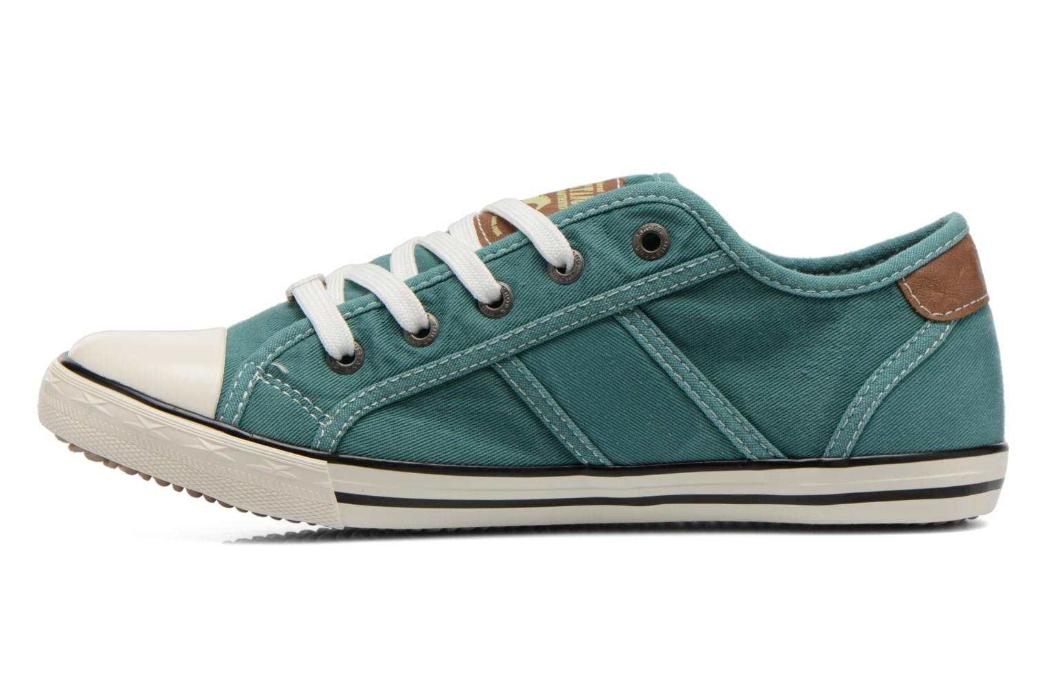 Trainers Mustang shoes Pitaya Green front view