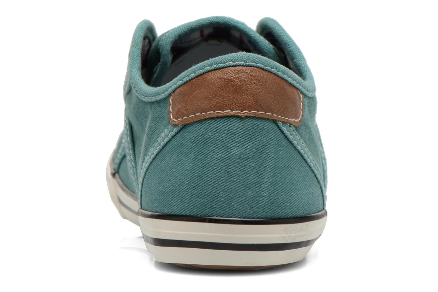 Trainers Mustang shoes Pitaya Green view from the right