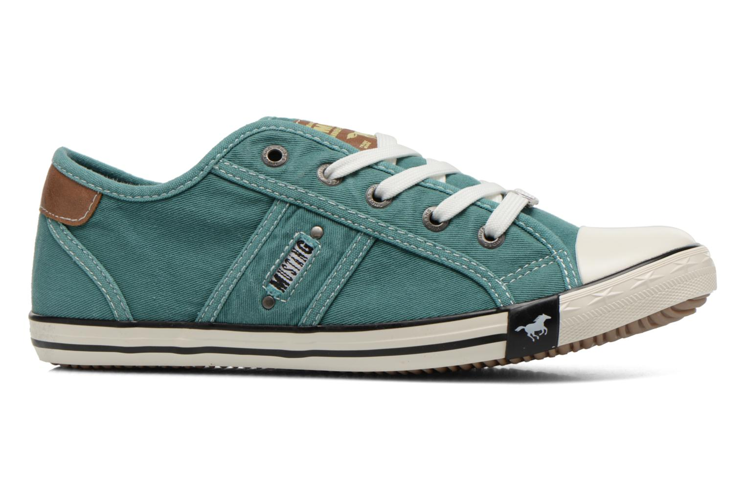 Trainers Mustang shoes Pitaya Green back view