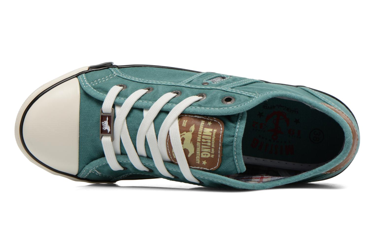 Sneakers Mustang shoes Pitaya Verde immagine sinistra