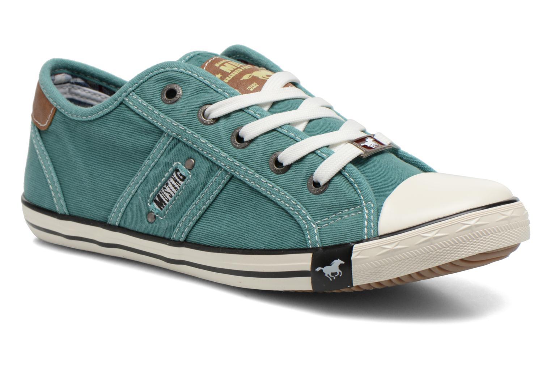 Sneakers Mustang shoes Pitaya Grøn detaljeret billede af skoene