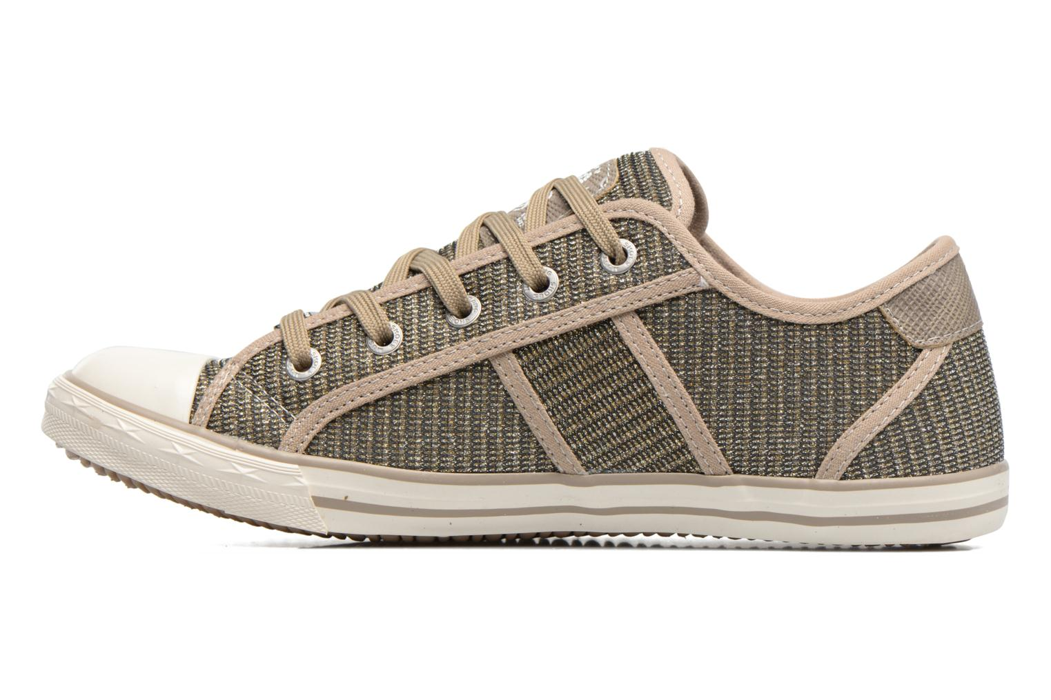 Sneakers Mustang shoes Pitaya Oro e bronzo immagine frontale