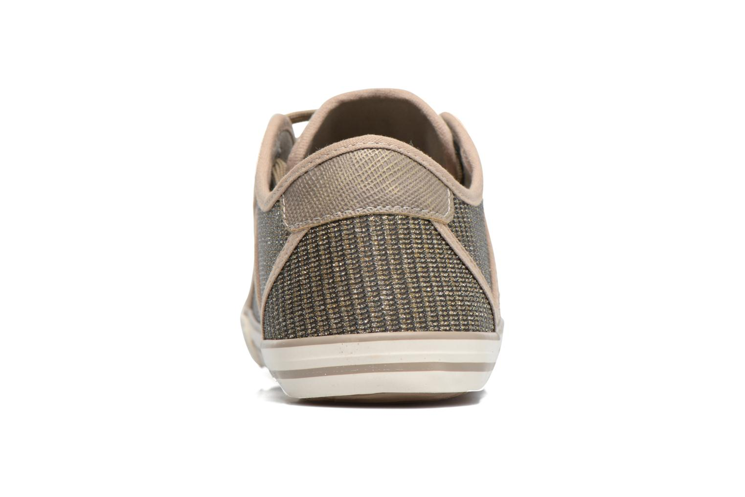 Baskets Mustang shoes Pitaya Or et bronze vue droite