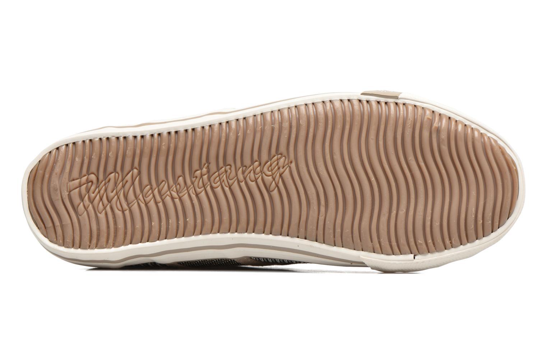Sneaker Mustang shoes Pitaya gold/bronze ansicht von oben