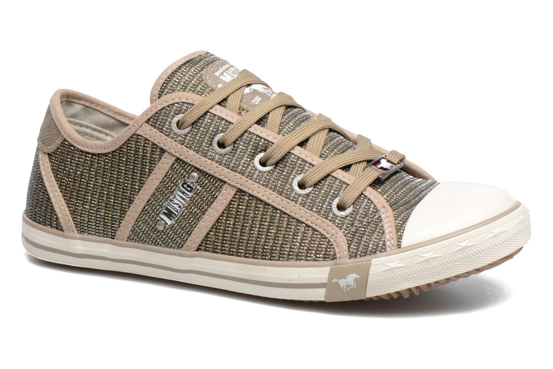 Sneakers Mustang shoes Pitaya Oro e bronzo vedi dettaglio/paio