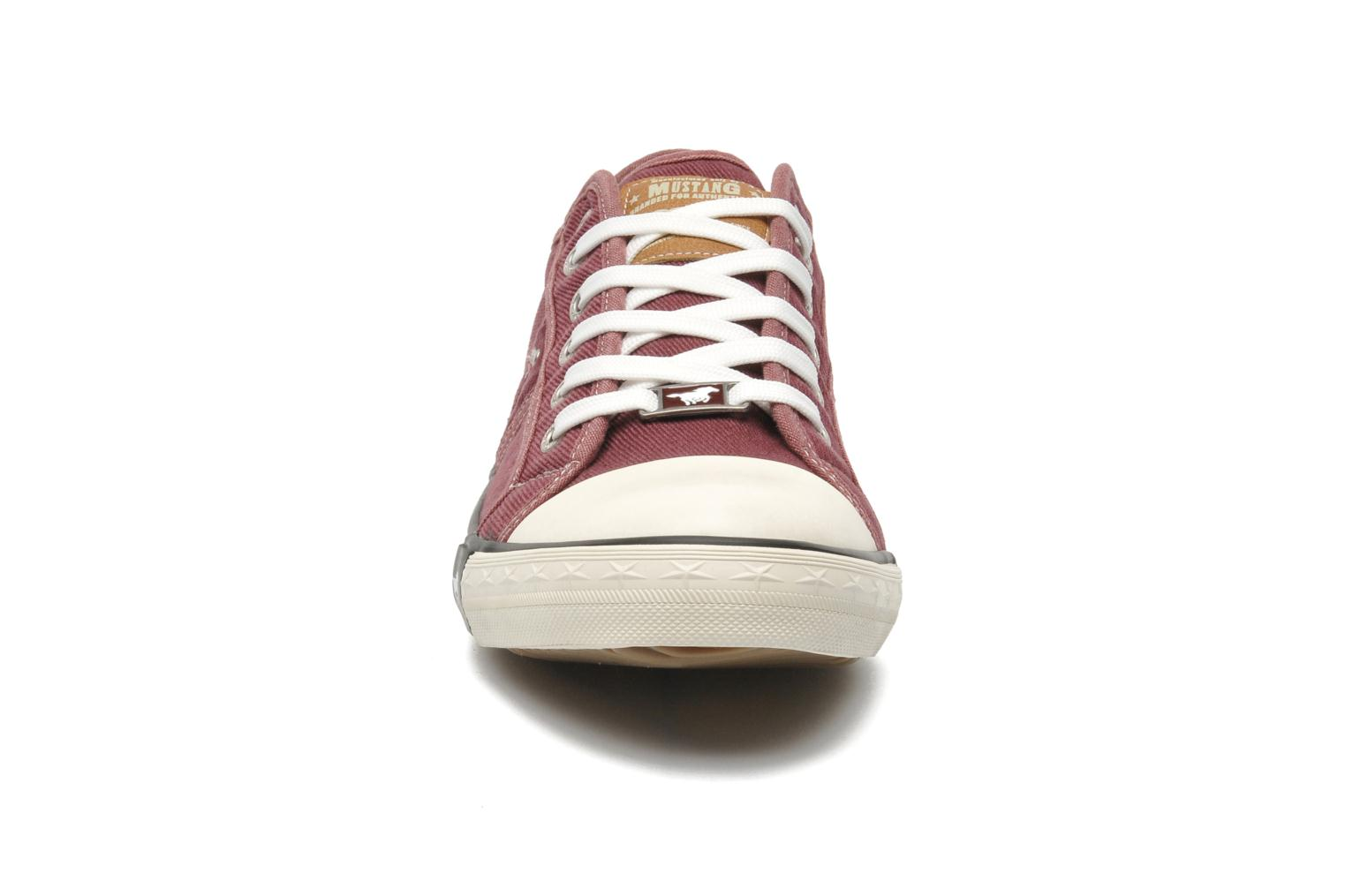 Trainers Mustang shoes Tista Burgundy model view