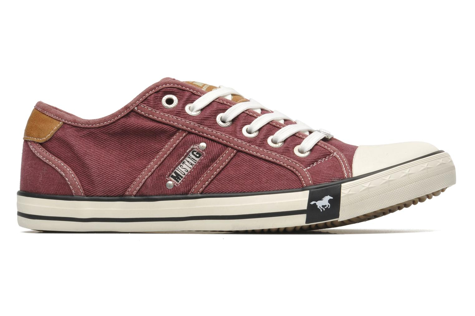 Trainers Mustang shoes Tista Burgundy back view