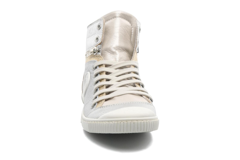 Baskets Pataugas BanjouM Argent vue portées chaussures