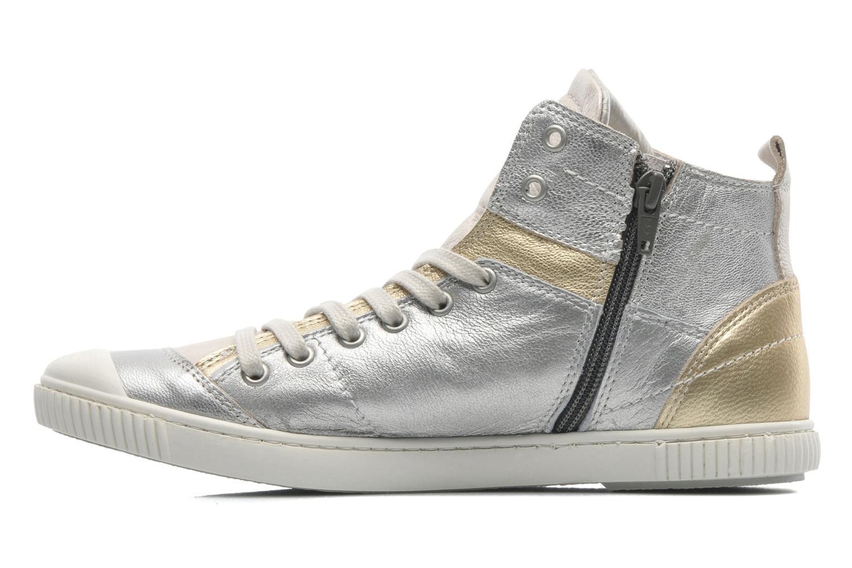 Sneakers Pataugas BanjouM Argento immagine frontale