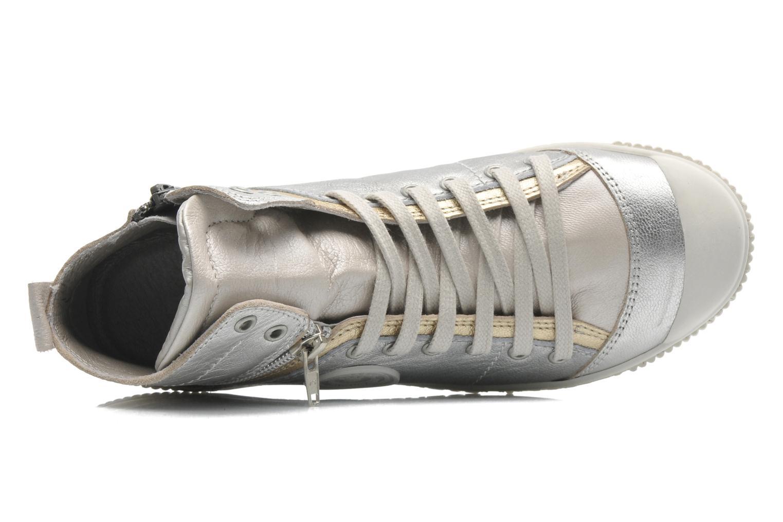 Sneakers Pataugas BanjouM Argento immagine sinistra