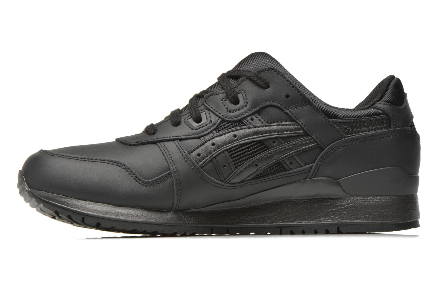 Trainers Asics Gel-lyte III Black front view