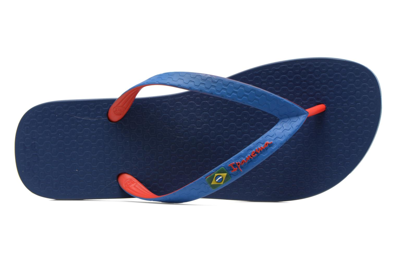 Brazil bicolor ad Blue/red