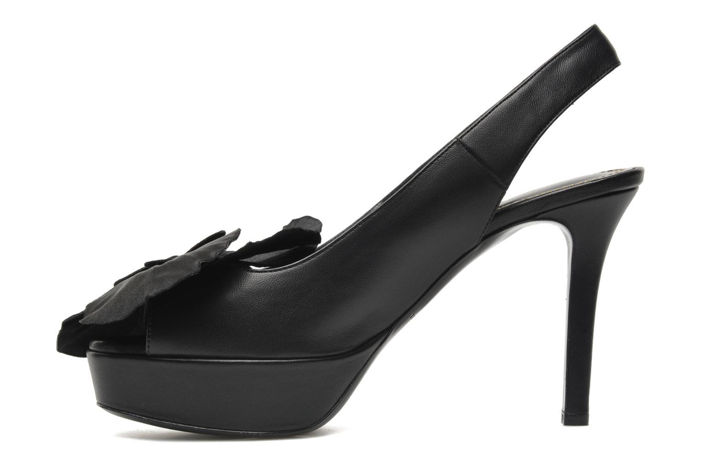 Sandales et nu-pieds Sonia Rykiel Fleur Noir vue face