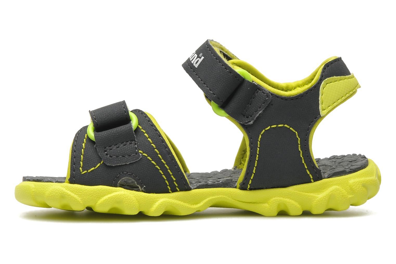 Sandales et nu-pieds Timberland Splashtown 2 Strap Sandal Gris vue face
