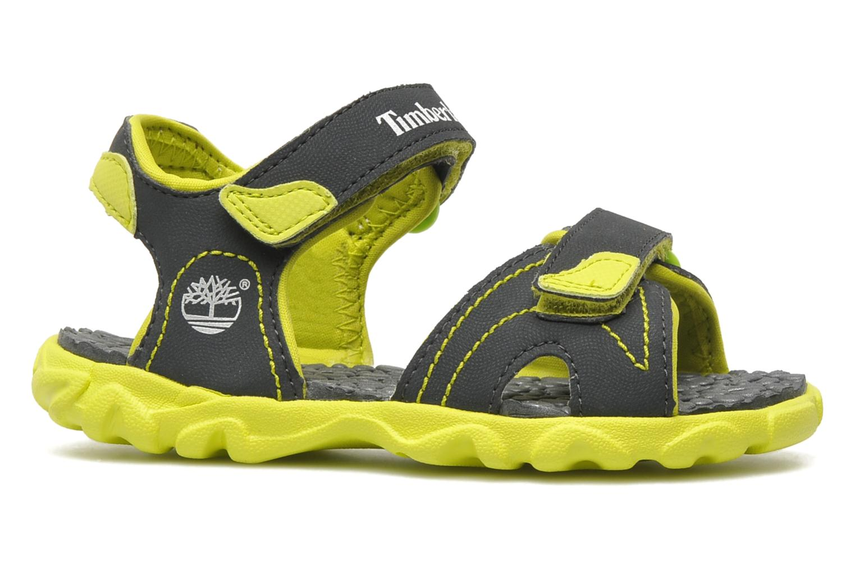 Splashtown 2 Strap Sandal Dark Grey with Green