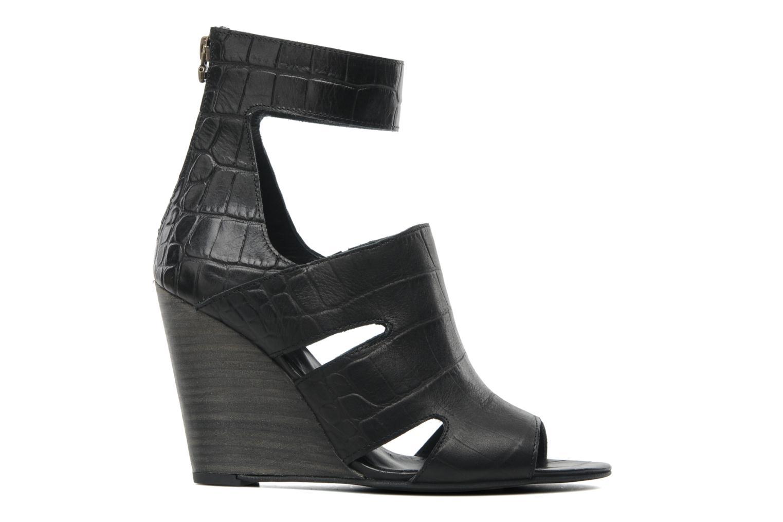 Sandales et nu-pieds Dkode Thetis Noir vue derrière