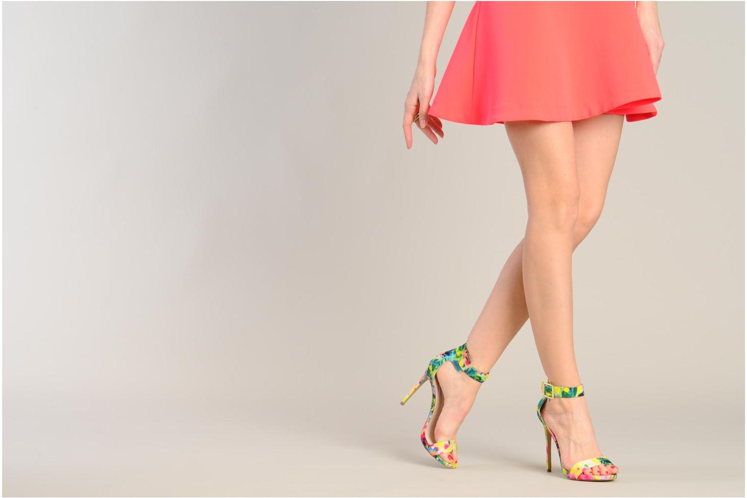 Sandals Steve Madden Marlenee Multicolor view from underneath / model view