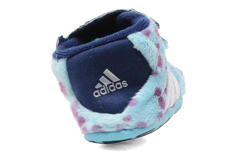 Pantoffels Adidas Performance Disney Monsters Crib Blauw rechts