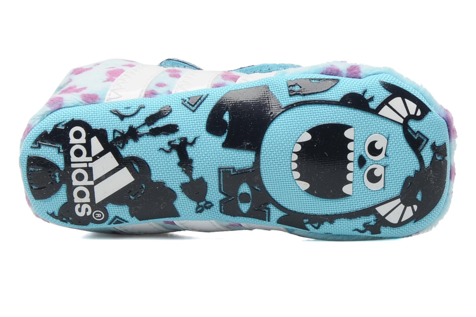 Pantoffels Adidas Performance Disney Monsters Crib Blauw boven