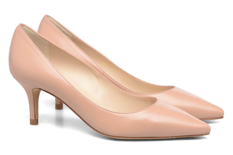 High heels L.K. Bennett Florisa Beige 3/4 view
