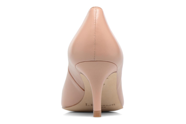 High heels L.K. Bennett Florisa Beige view from the right