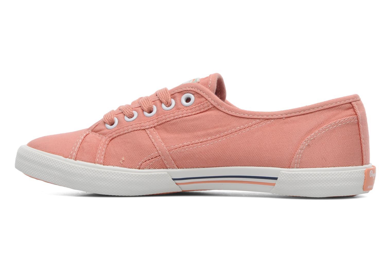 Sneakers Pepe jeans Aberlady Oranje voorkant