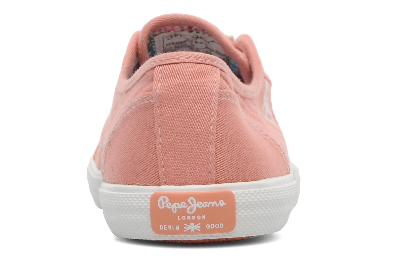 Sneakers Pepe jeans Aberlady Oranje rechts
