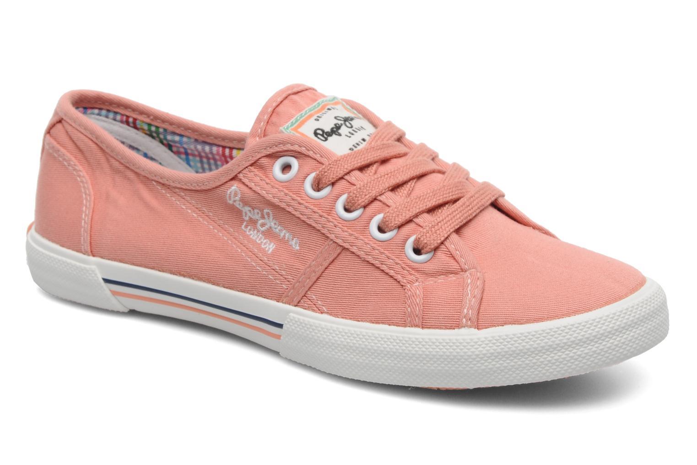 Sneakers Pepe jeans Aberlady Oranje detail