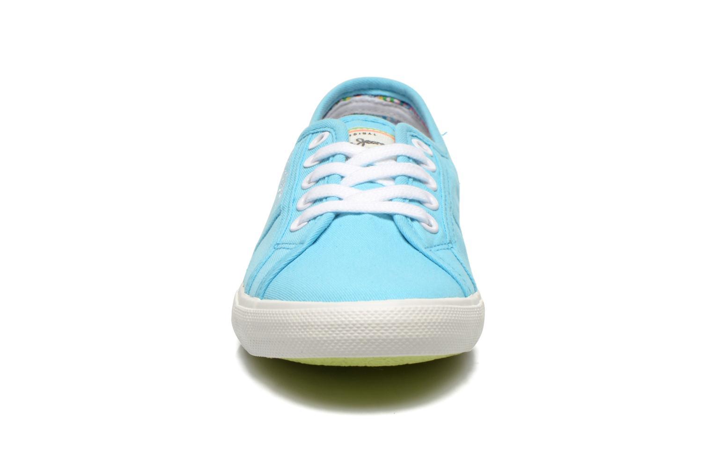 Baskets Pepe jeans Aberlady Bleu vue portées chaussures