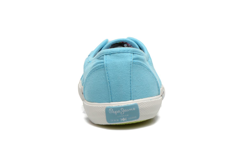 Baskets Pepe jeans Aberlady Bleu vue droite