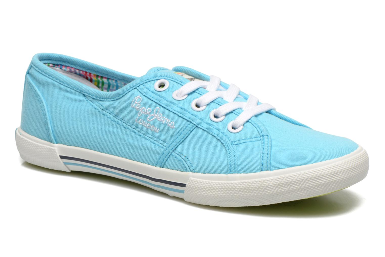 Sneakers Pepe jeans Aberlady Blauw detail