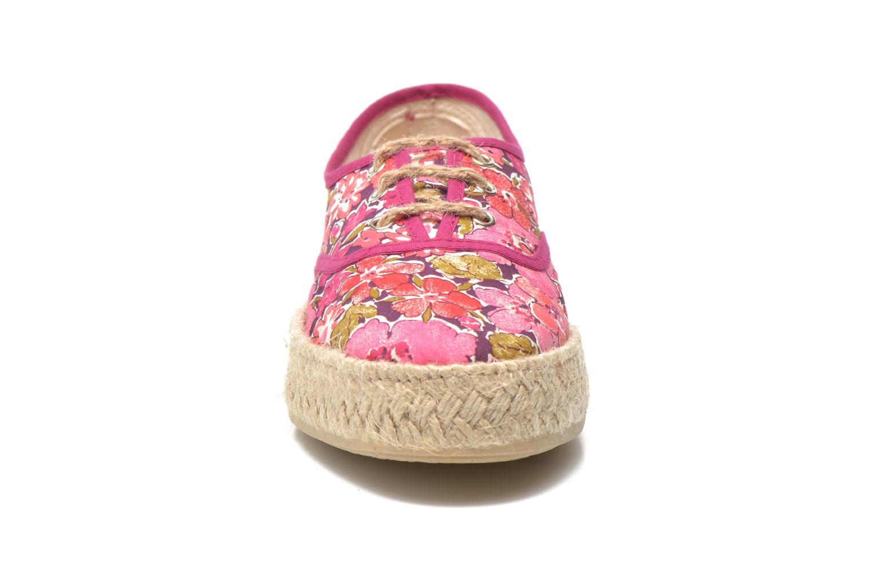 Espadrilles Pare Gabia Lotus Rose vue portées chaussures