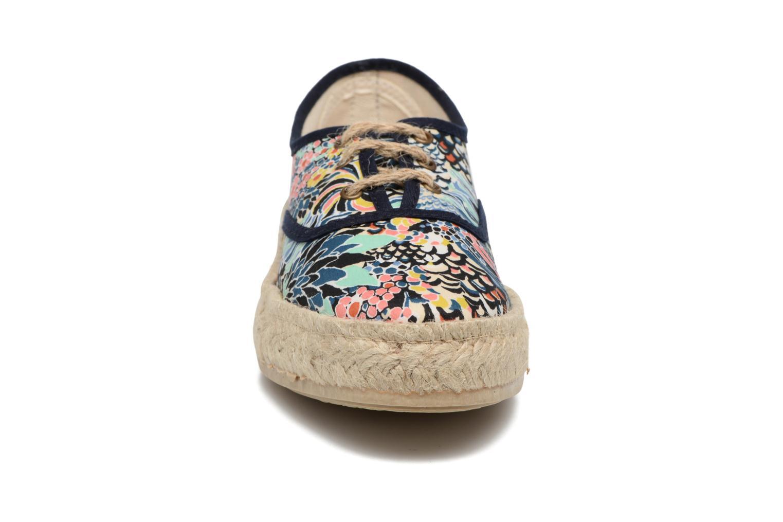 Espadrilles Pare Gabia Lotus Bleu vue portées chaussures