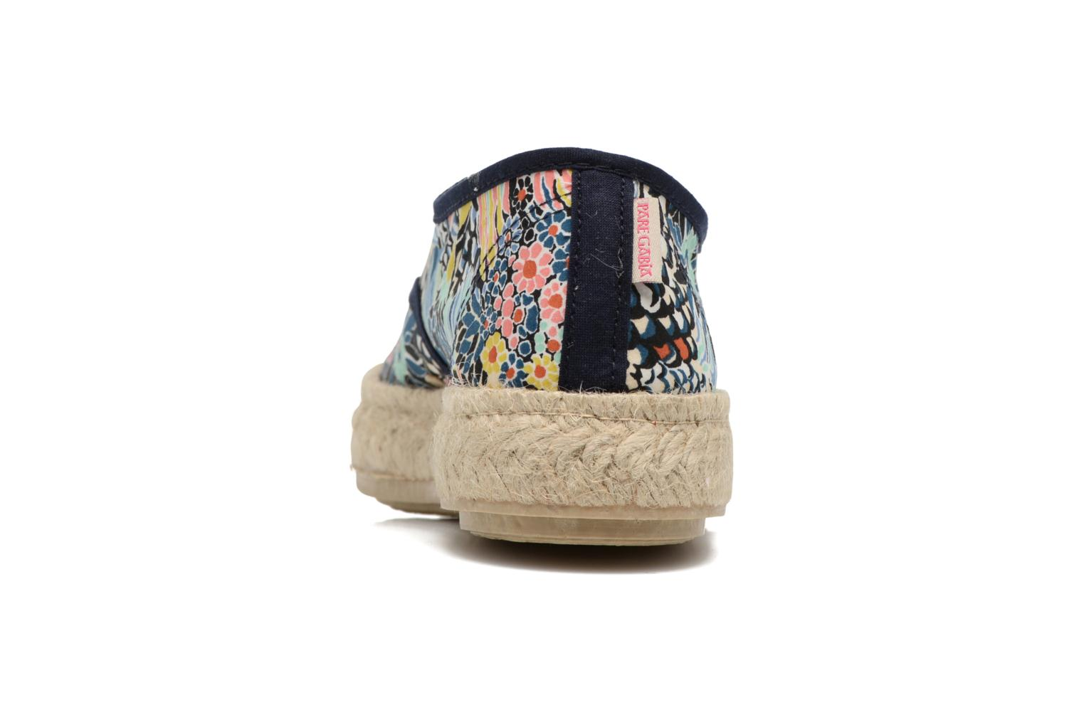 Espadrilles Pare Gabia Lotus Blue view from the right
