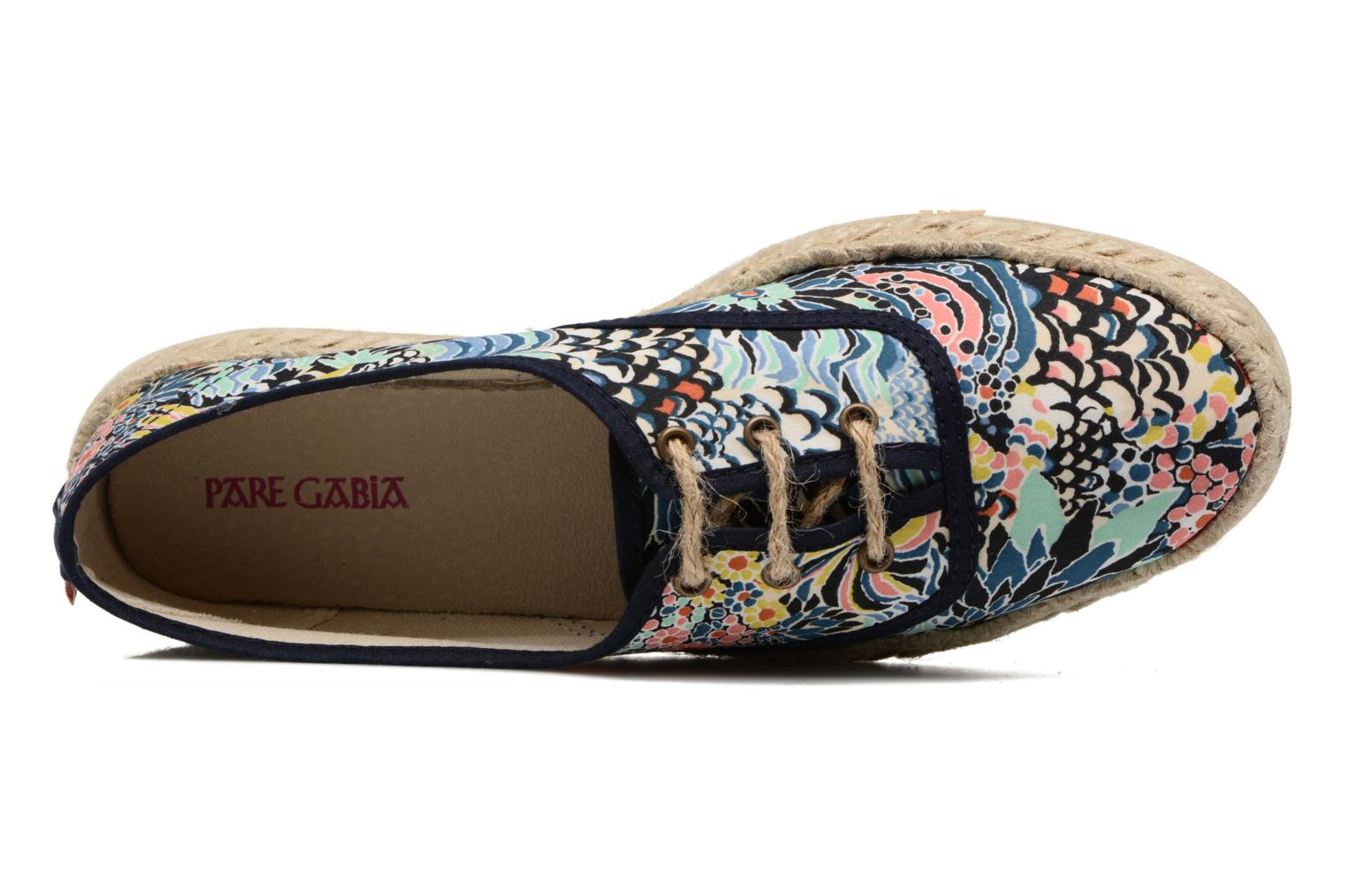 Espadrilles Pare Gabia Lotus Blue view from the left