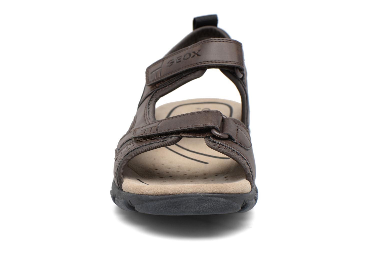 Sandalen Geox U S.STRADA A U4224A braun schuhe getragen