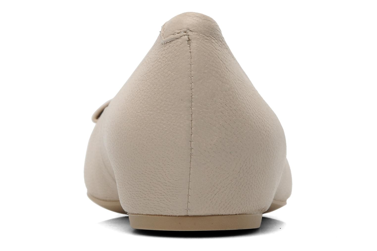 Ballet pumps Geox D Leslie B Beige view from the right