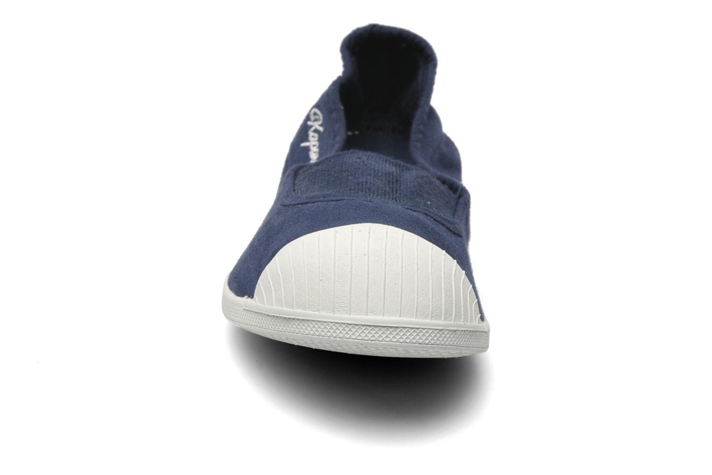 Baskets Kaporal Vandana Bleu vue portées chaussures