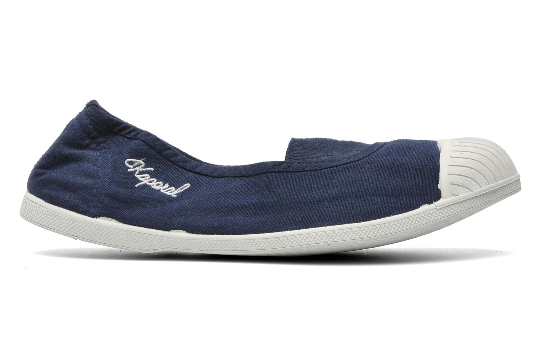 Sneaker Kaporal Vandana blau ansicht von hinten