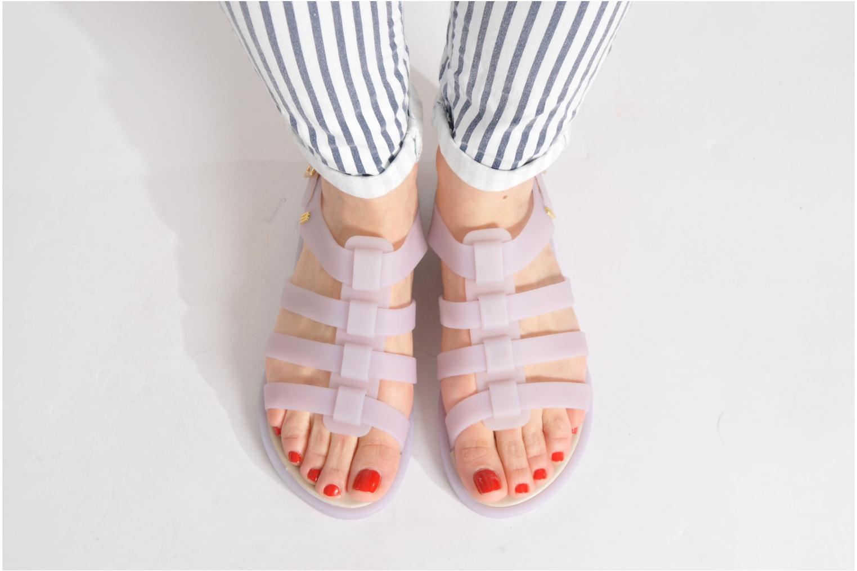 Sandalen Melissa Melissa Flox Sp Ad weiß ansicht von unten / tasche getragen