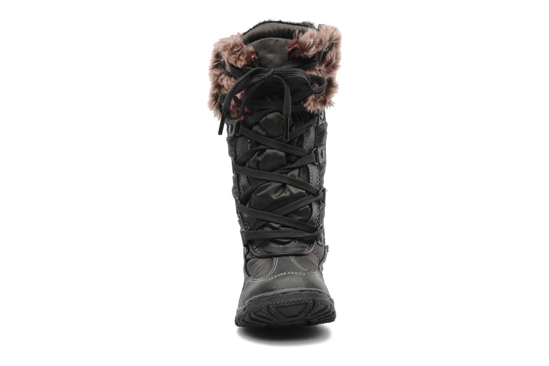 Bottes I Love Shoes Randarge Gris vue portées chaussures