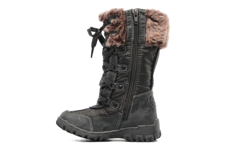 Stiefel I Love Shoes Randarge grau ansicht von vorne
