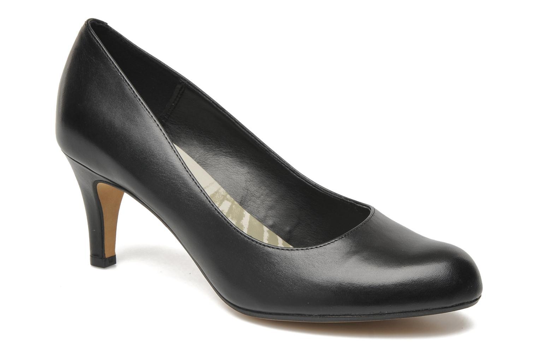 Arista Abe, Escarpins Femme, Noir (Black Leather), 40 EUClarks