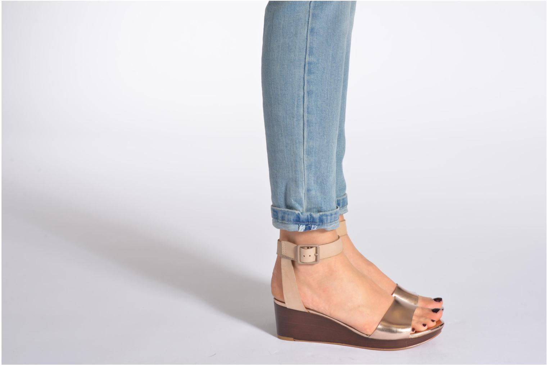 Sandales et nu-pieds Clarks Ornate Jewel Multicolore vue bas / vue portée sac