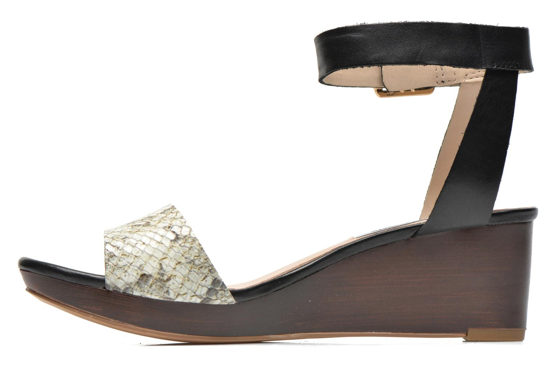 Sandales et nu-pieds Clarks Ornate Jewel Multicolore vue face