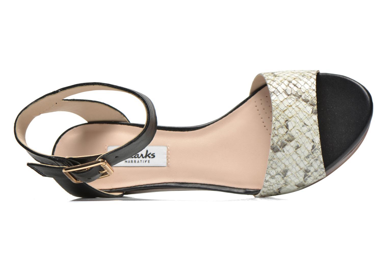 Sandales et nu-pieds Clarks Ornate Jewel Multicolore vue gauche