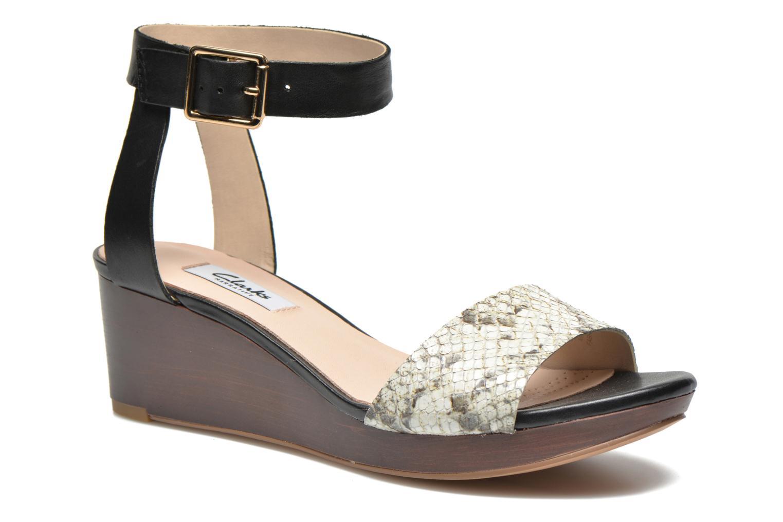 Sandales et nu-pieds Clarks Ornate Jewel Multicolore vue détail/paire