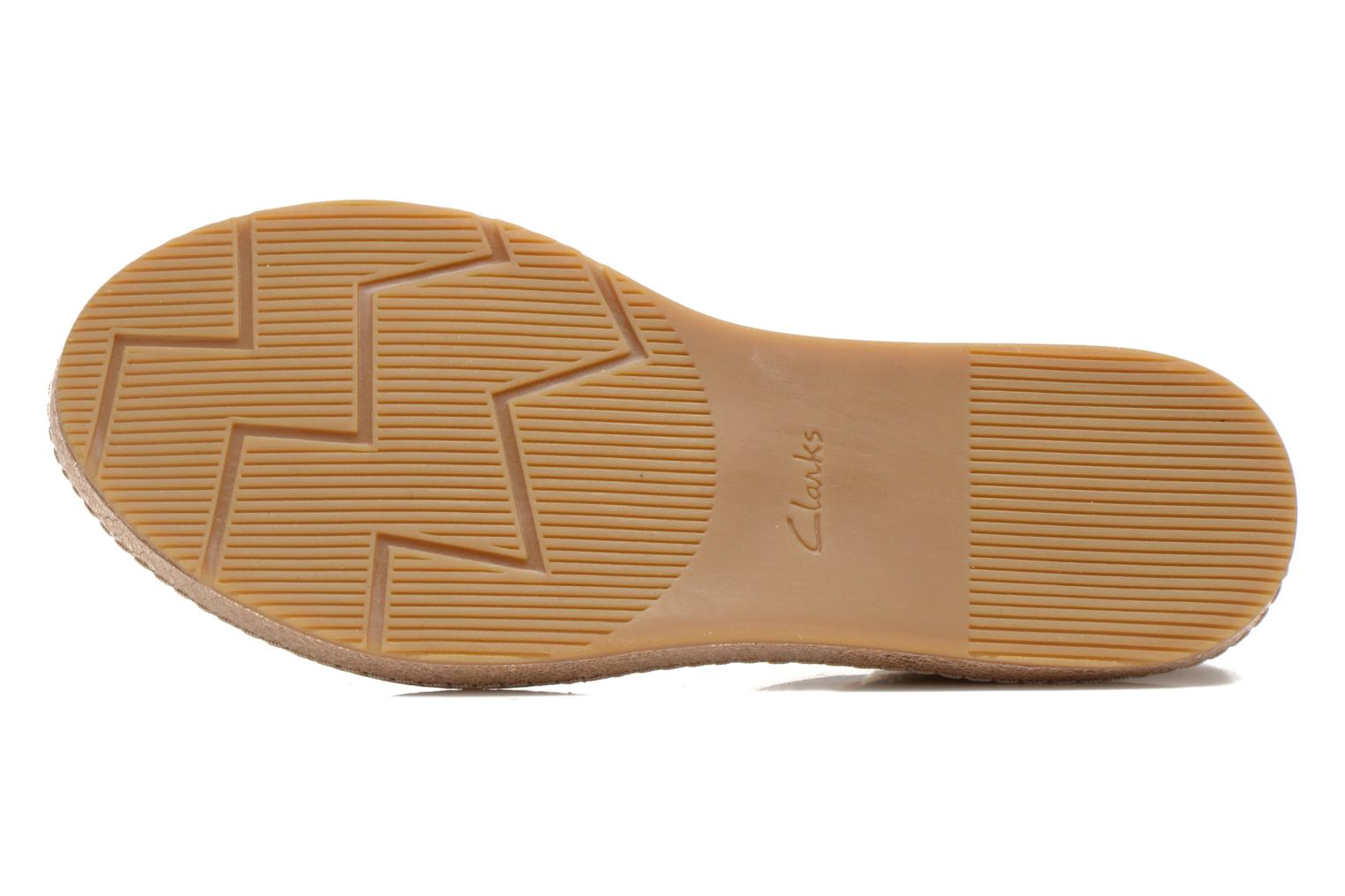 Sandals Clarks Romantic Moon Bronze and Gold view from above