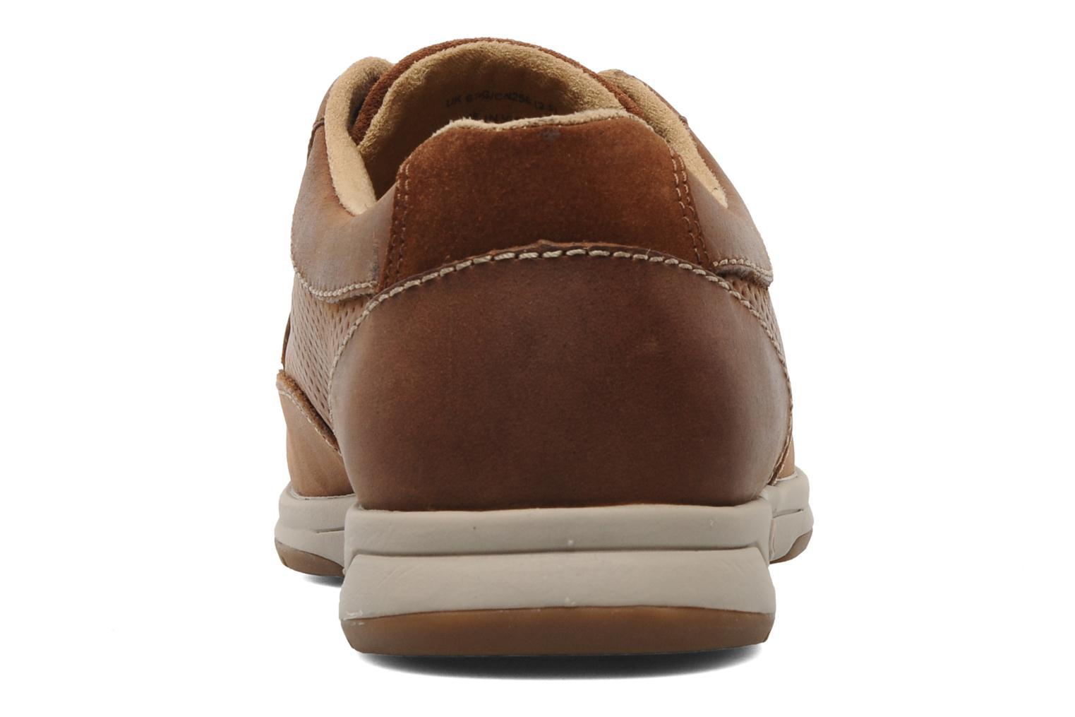 Tan Leather Clarks Unstructured Stafford Park5 (Marron)