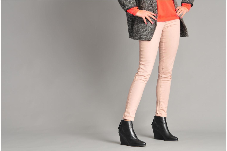 Bottines et boots Georgia Rose Tablier Noir vue bas / vue portée sac